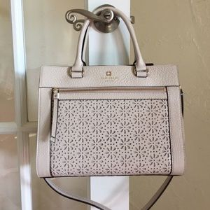 Kate spade perforated handbag Crossbody